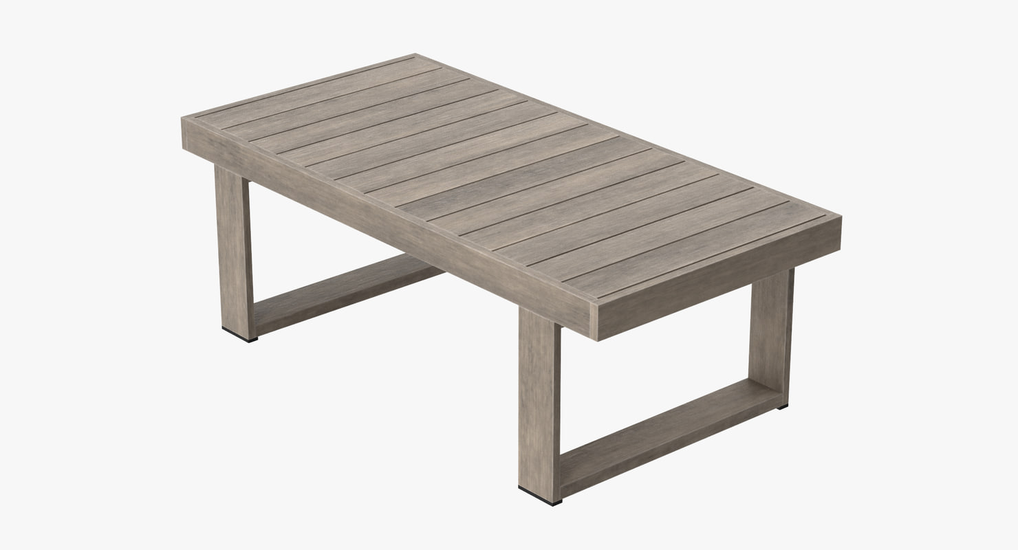 3d model patio coffee table for Coffee table 3d model