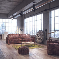 Loft Interior Apartment