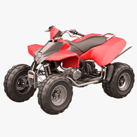rocky mountain atv 3d model