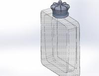 perfume crown cap 3d model
