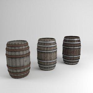 3d model of barrel level