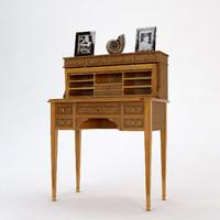 3d provasi writing desk model