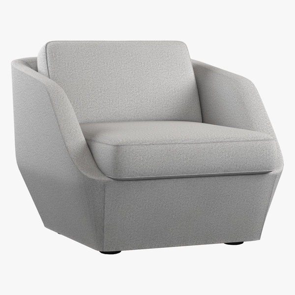 armchair bernhardt design 3d max
