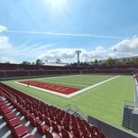 3d american football arena model