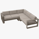 sectional sofa 3D models