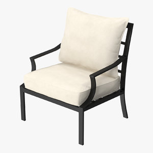 patio chair 02 3d max
