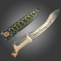 3d model kopis sword