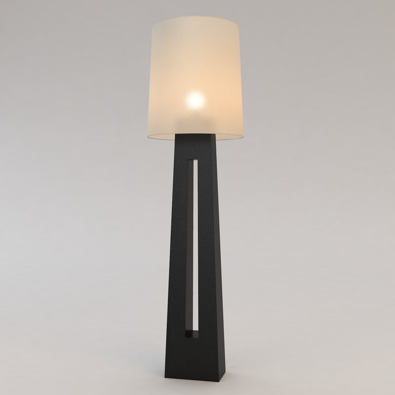 dinka floor lamp christian 3d max