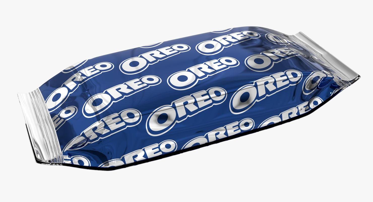 oreo snack pack 3d max