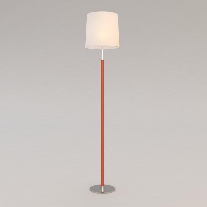3d haras floor lamp christian model