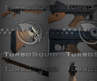 thompson sub machine 3d model