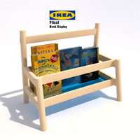 3d model of ikea flisat book display