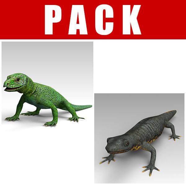 green lizard 3ds