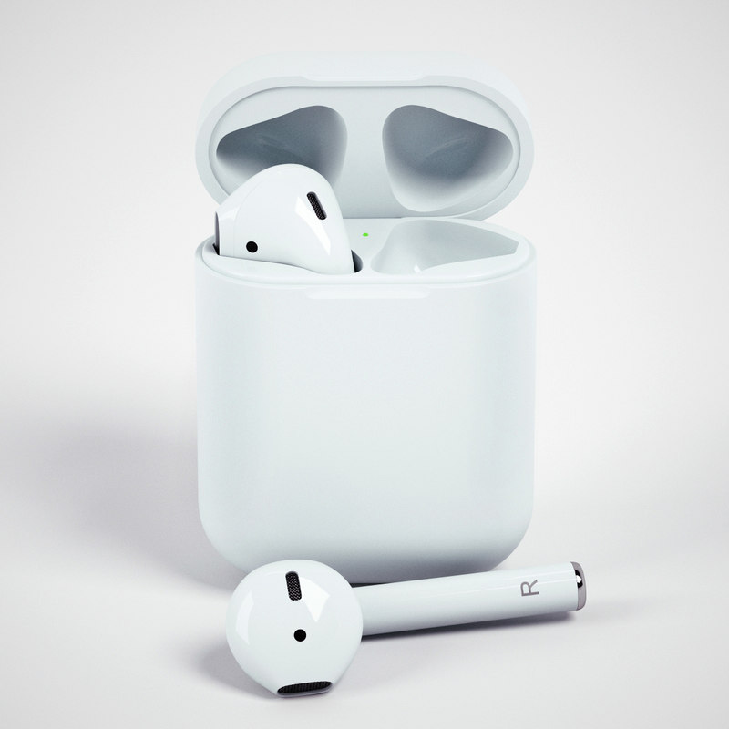 3d model apple airpods