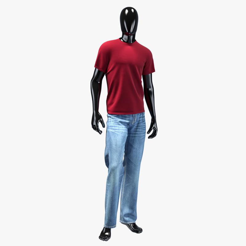 max man jeans set