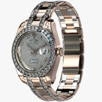 3d rolex oyster perpetual pearlmaster