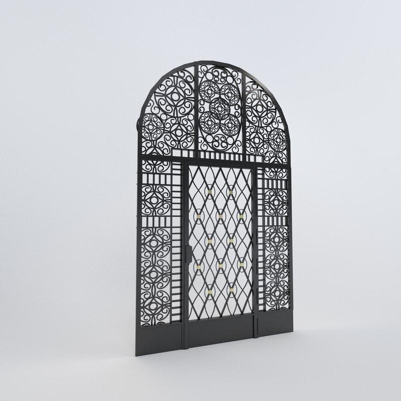 iron door max