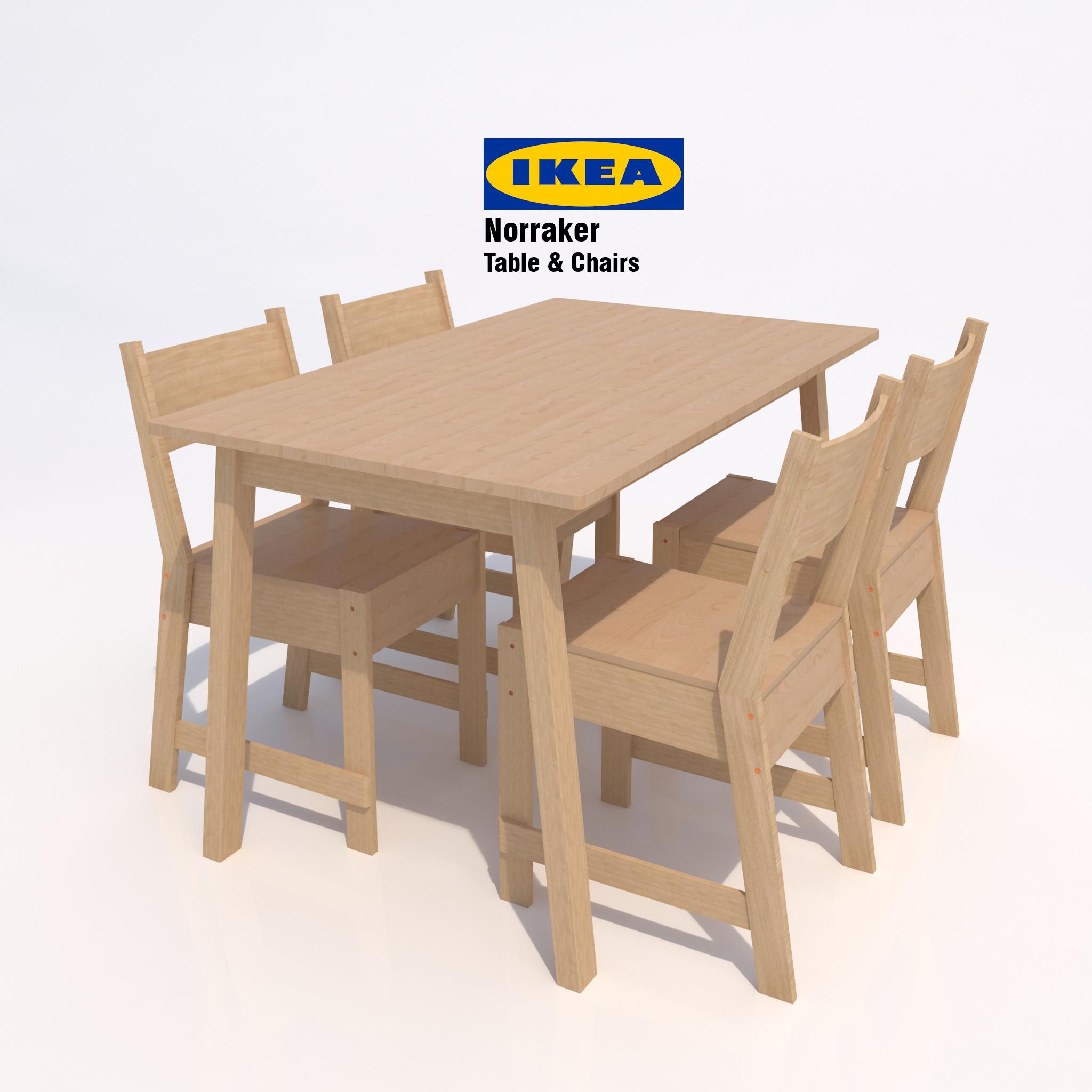 Ikea Norraker Dining Set 02