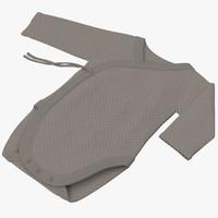 3d onesie gray -