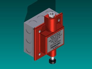 3d model pressure switch chemetron