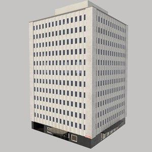 3d model standart hotel