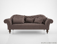 3d model ralph lauren hayden sofa