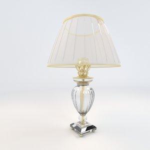 3d model leone aliotti lamp