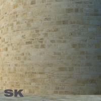 HQ Sandstone wall J