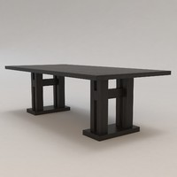 Malte Table by Christian Liaigre