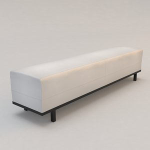 3d model nankin bench christian liaigre
