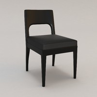 3d model musc chair christian liaigre