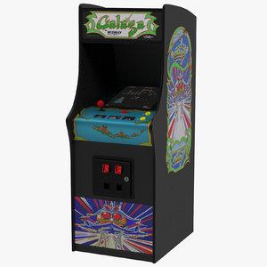 3d model arcade games