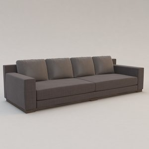 3d model ocean sofa christian liaigre