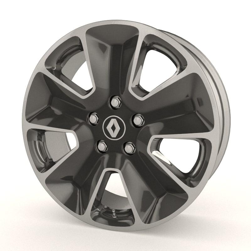 renault duster stock wheel max