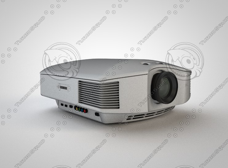 projector sony 3d c4d