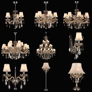 acesso osgona floor lamp 3d model