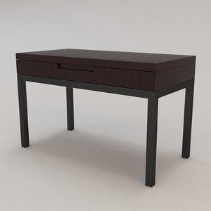 renard table christian liaigre 3d max
