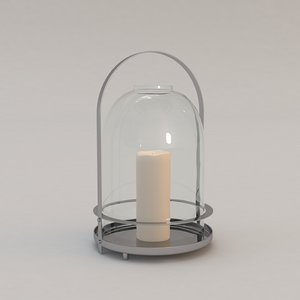 max septlune candle holder christian