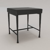 sud bench christian liaigre 3d model