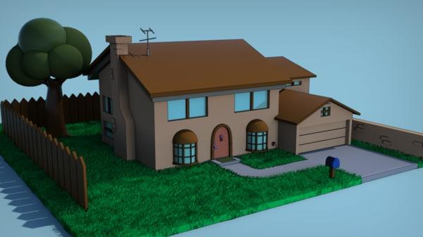 free max model simpson house