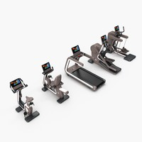 gym group cardio artis 3d model