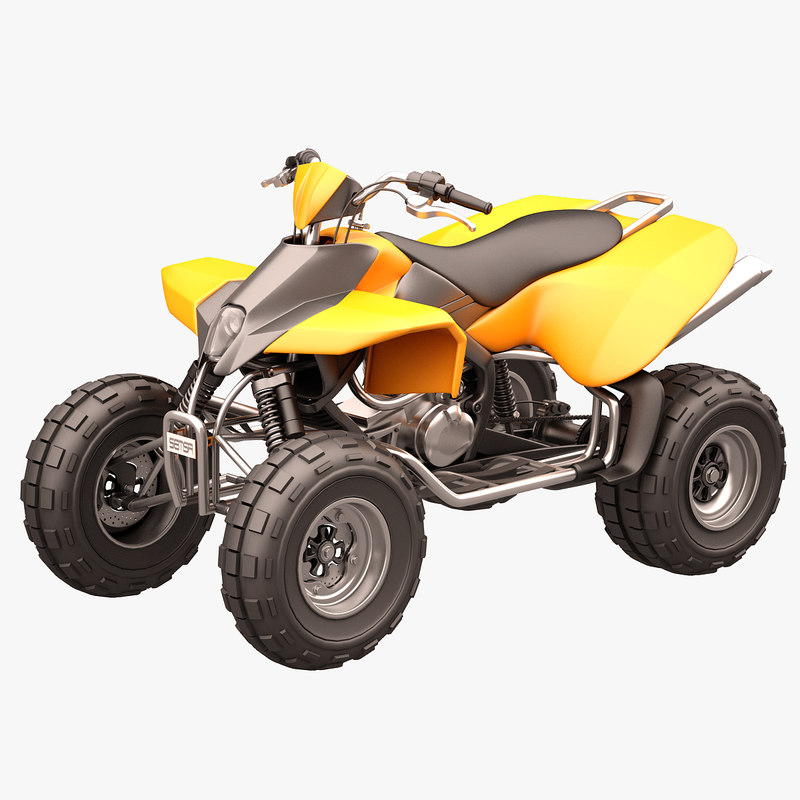 3d model rocky mountain atv