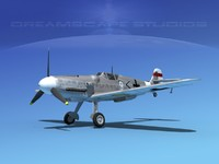 max messerschmitt bf-109 fighter
