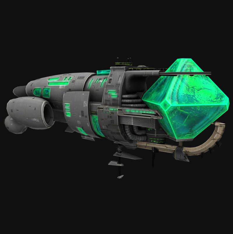 crystal battleship games 3d max