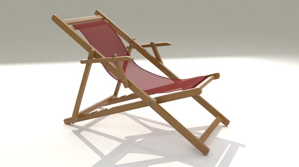 sun chair 3d 3ds