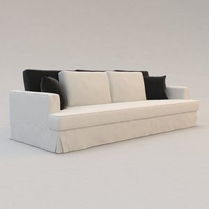 3d model of verneuil ii sofa christian