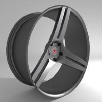 3ds wheels vossen vps 317