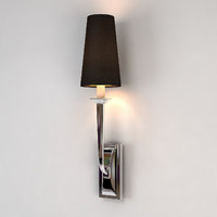 3d chelsom public area wall light model
