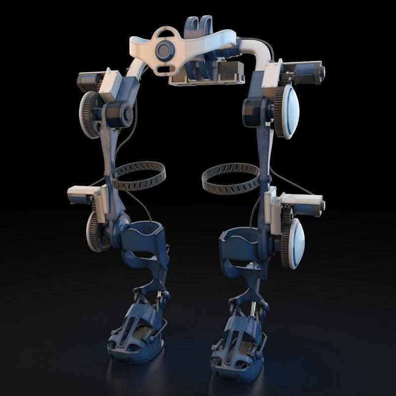 exoskeleton exo 3d max