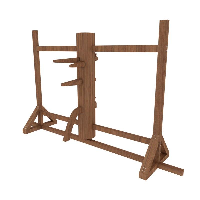 3d model wooden dummy
